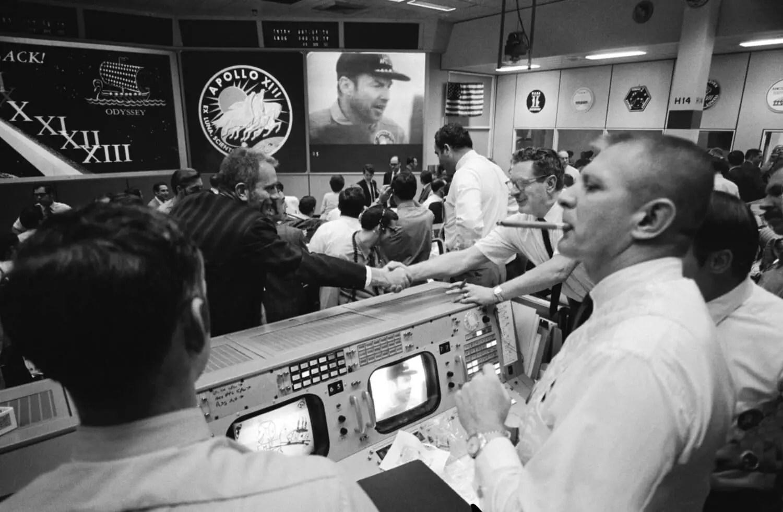 Apollo 13 Celebration - Original - Andy Saunders