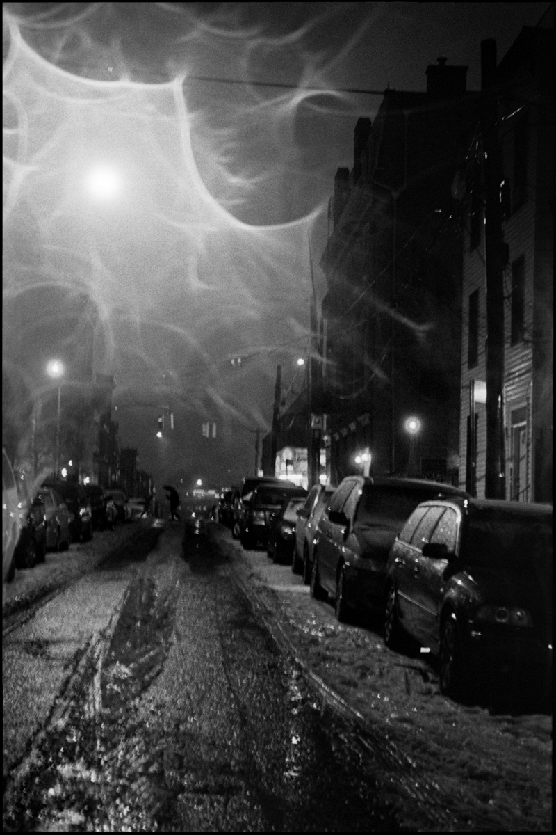 Leica M3 and 5cm f/3.5 Elmar LTM - Bronx at night