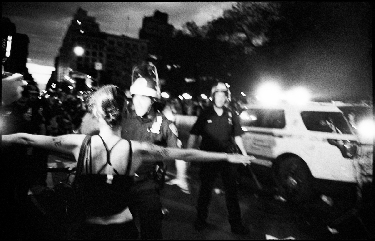 Leica M3 and Carl ZEISS Biogon T* 2,8/28 ZM - BLM Protests, Union Square, NY