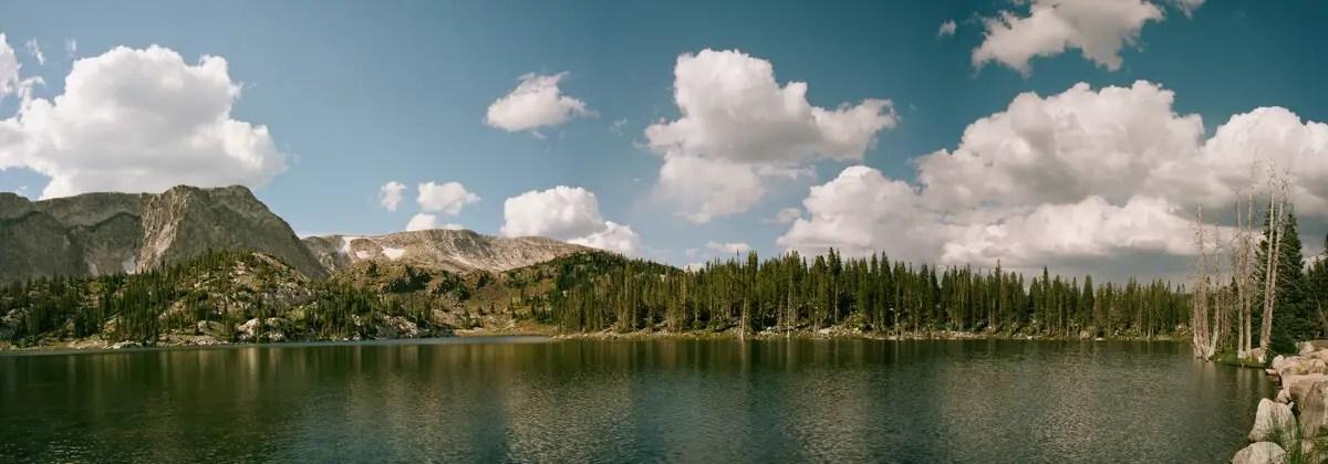 Mirror Lake Snowy Range - Kodak Portra 400