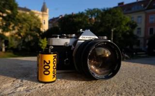 Olympus OM1 55mm f/1.2 and Kodak ColorPlus 200 film