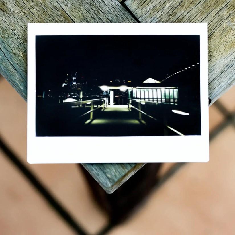 MiNT Instakon RF70 + Fujifilm Instax Wide - Jeffrey Street Wharf