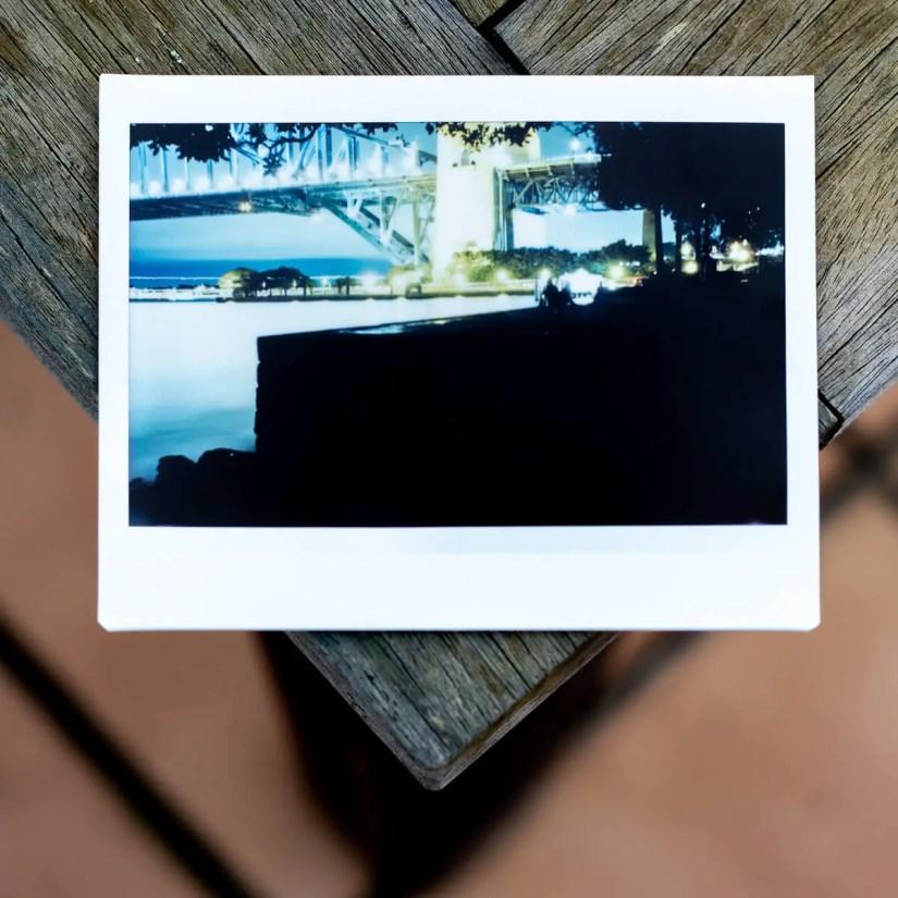 MiNT Instakon RF70 + Fujifilm Instax Wide - Silhouette Foreshore