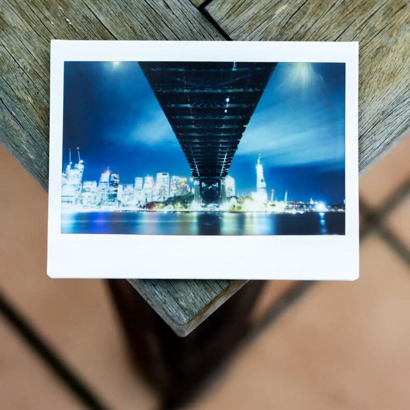 MiNT Instakon RF70 + Fujifilm Instax Wide - Under the Bridge