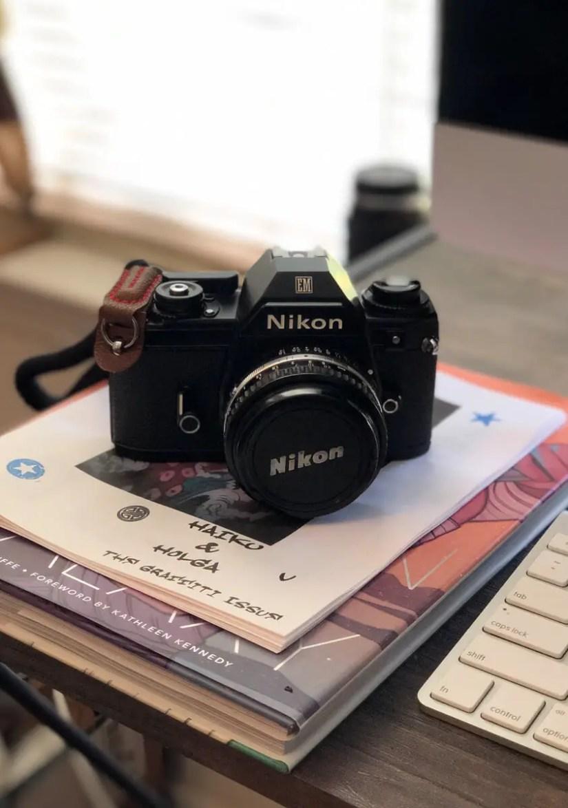 My Nikon EM + Nikon 50mm f/1.8 Series E, Jonathan King