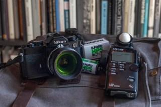 My Nikon FM kit, Mitch Walker
