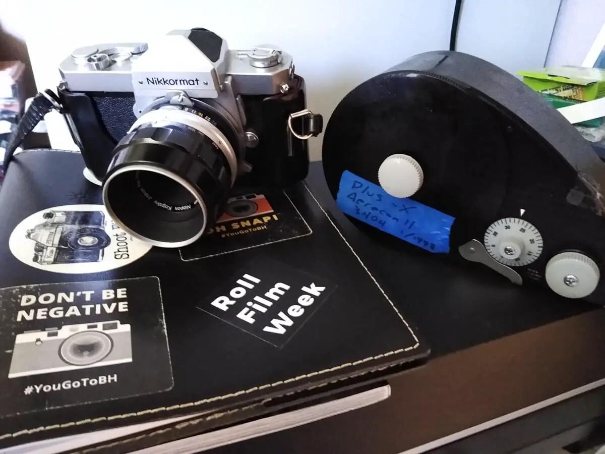 Nikkormat FTN + Nikon Micro-Nikkor 55mm f/3.5 Non-AI, James Harr