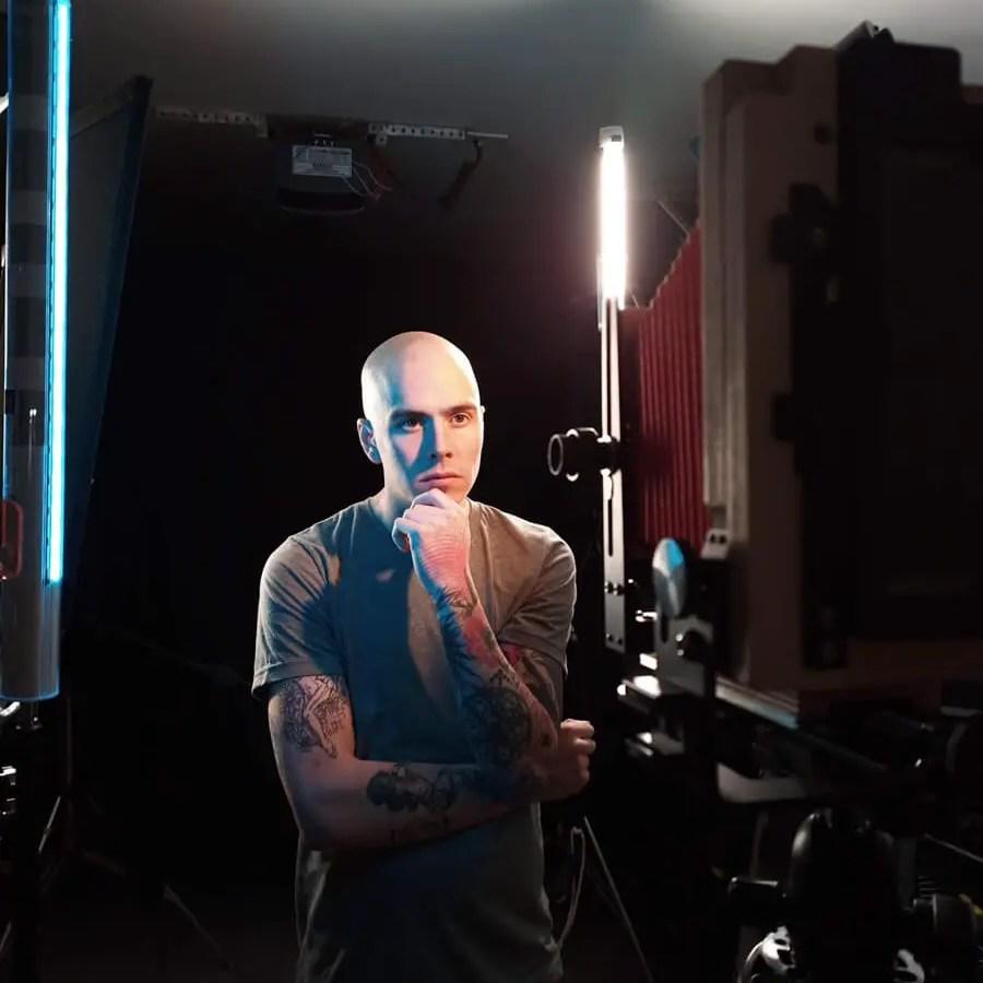 Wyatt - Behind the scenes