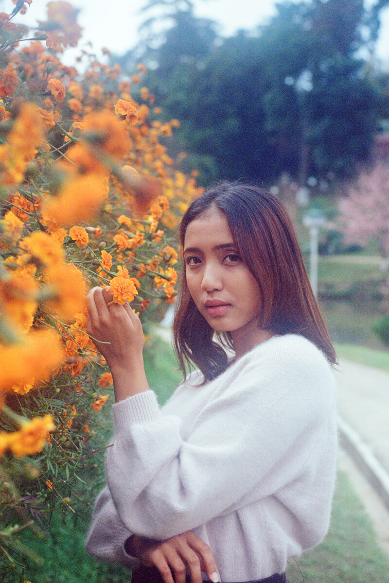 5 Frames of portraits in Shillong on Kodak Portra 400 (35mm Format / EI 400 / Canon AE 1- Program + Canon FD 50mm f/1.8) - by Tashdique Mehtaj