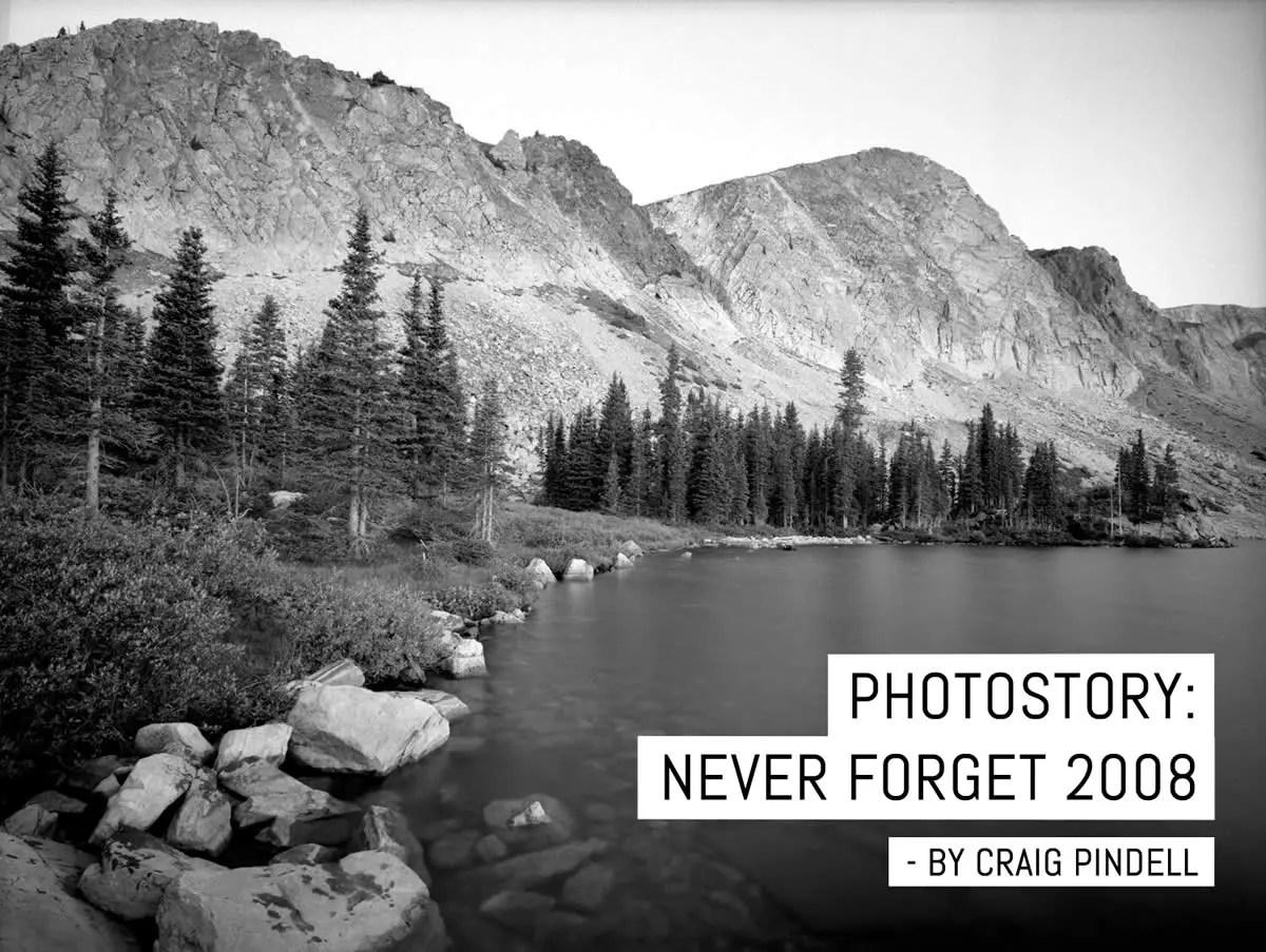 Cover - Never forget, Craig Pindell - September 11 2008