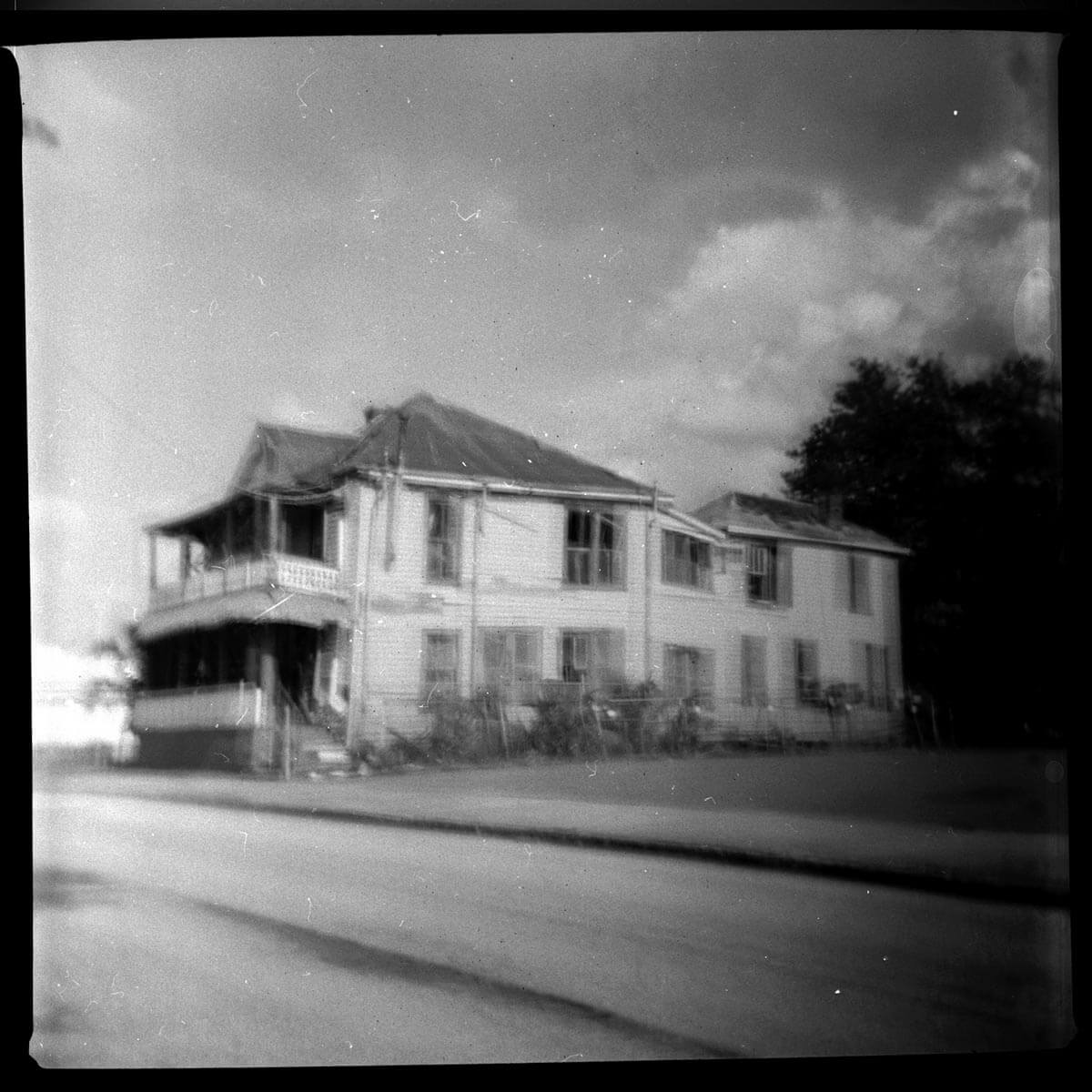 5 Frames... Of Tampa's Ybor City Historic District on ILFORD HP5 PLUS (620 Format / Kodak Duaflex IV) - by Chip Weiner
