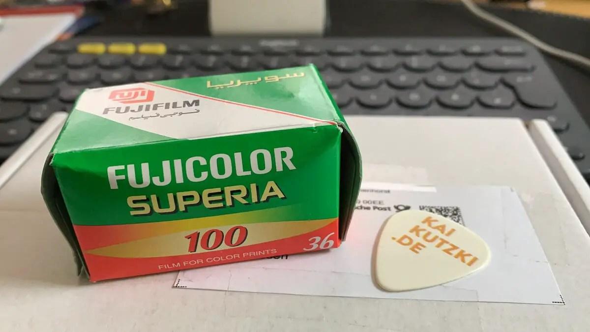 Expired Fuji Superia 100 from Kai Kutzki