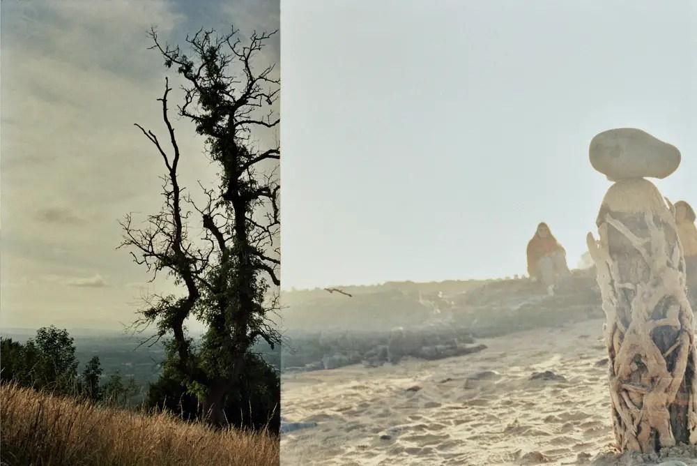 5 Frames... Of double exposure on Kodak Portra 160 (35mm Format / EI 160 / Minolta SRT 101 + MC Rokkor 35mm f/2.8) - by Nick Rees