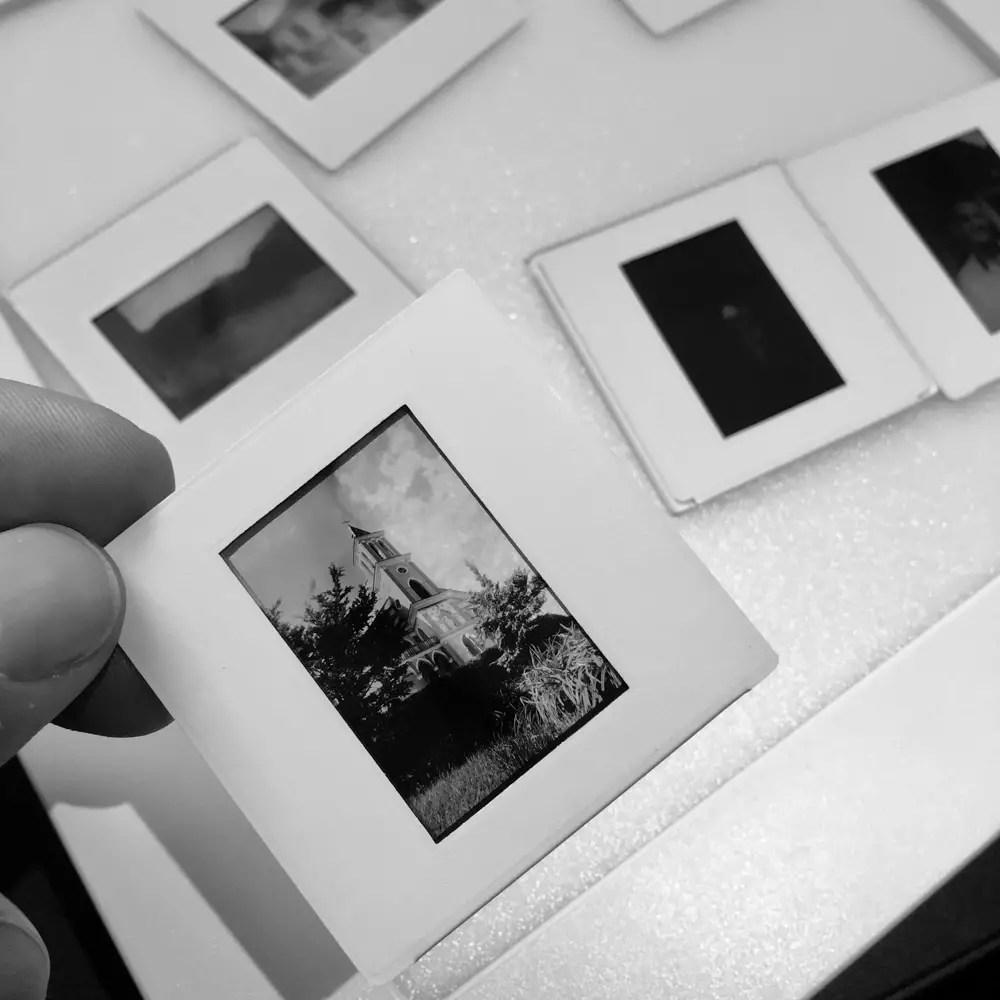 Kodak Technical Pan 2415 slides