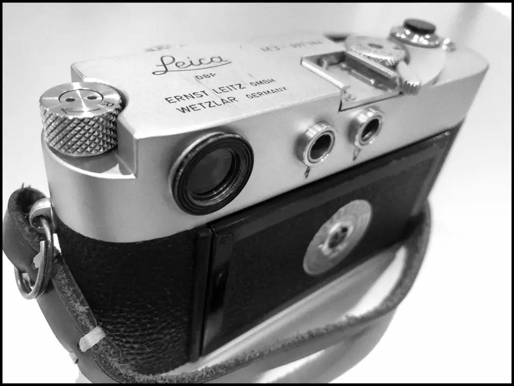Leica M3 - Rear