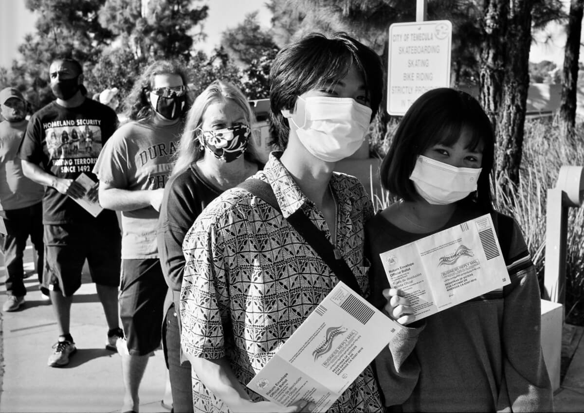 5 Frames... Of pre-US election day 2020 on ILFORD FP4 PLUS (Nikon FE / 35mm Format) - by Todd Shorack