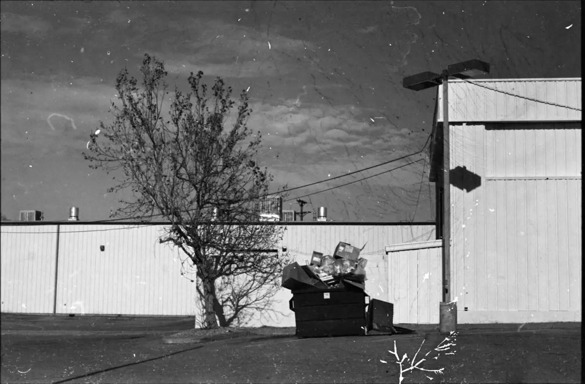 5 Frames... On 30+ year expired Kodak Panatomic X driving through New Mexico (EI 32 / Nikon F3 / Voigtlander Nokton 58mm f/1.4) - by Andrew Collins