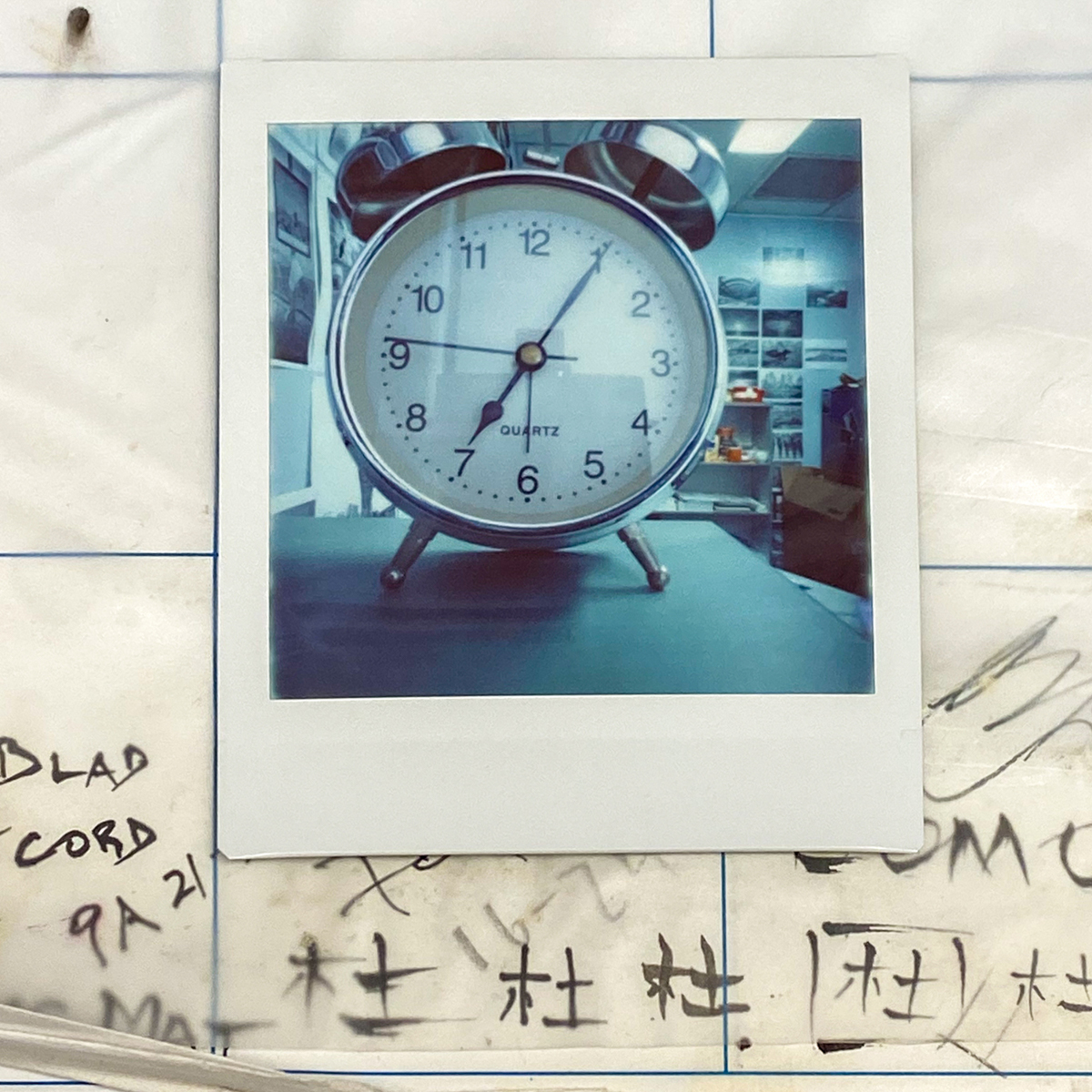 Clock - Lomography Diana Instant Square and Fujifilm Instant Square film