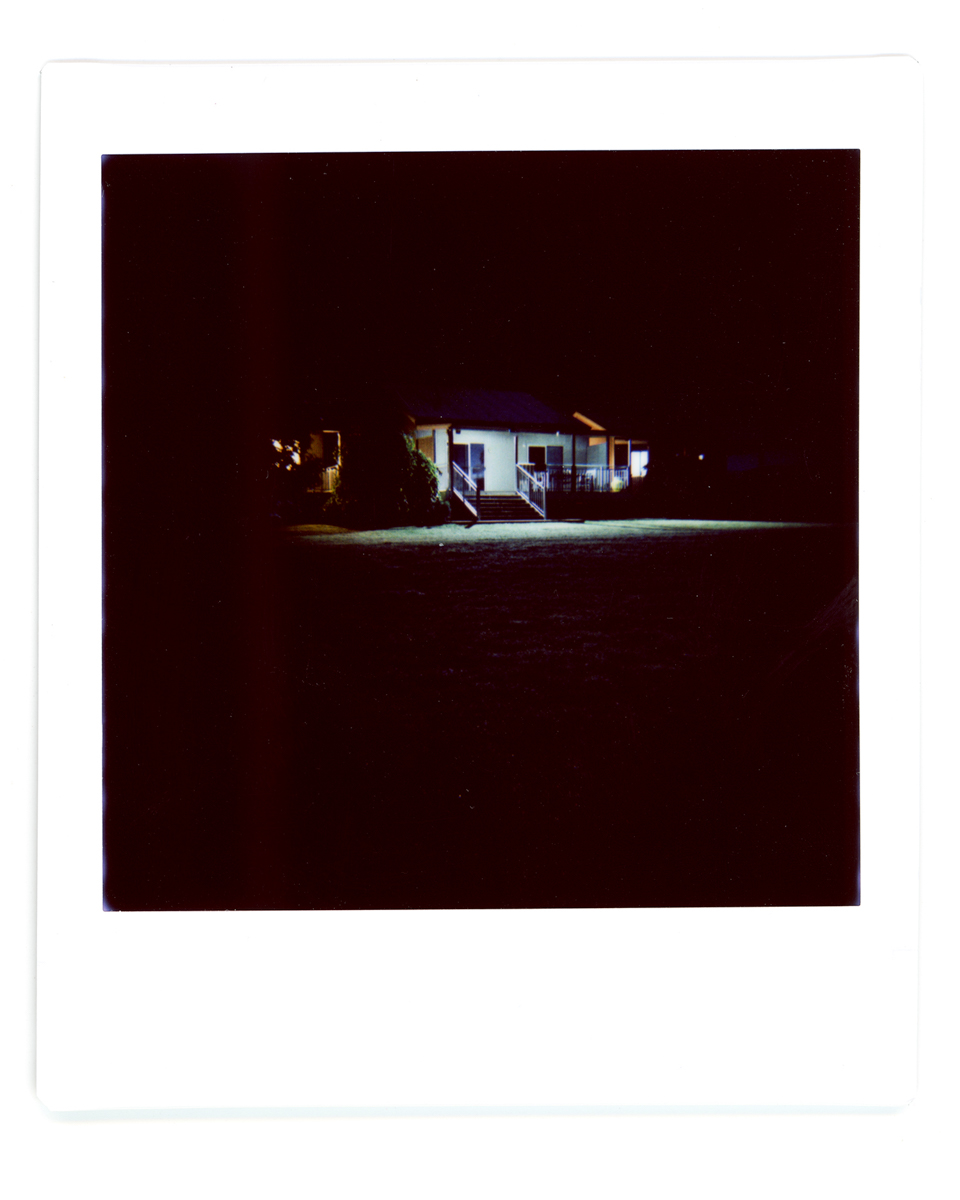 Low Light Cabin - Lomography Diana Instant Square and Fujifilm Instant Square film