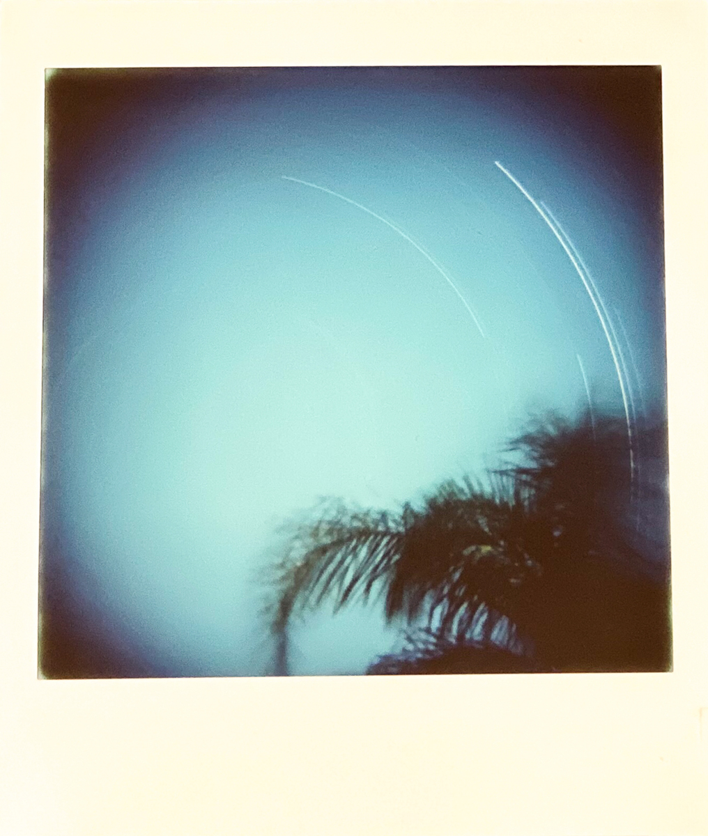 Star Trail - Lomography Diana Instant Square and Fujifilm Instant Square film