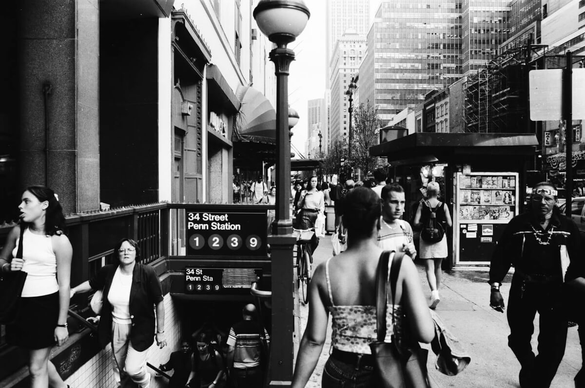 1990s New York City- Yashica 200 AF and Kodak Tri-X 400