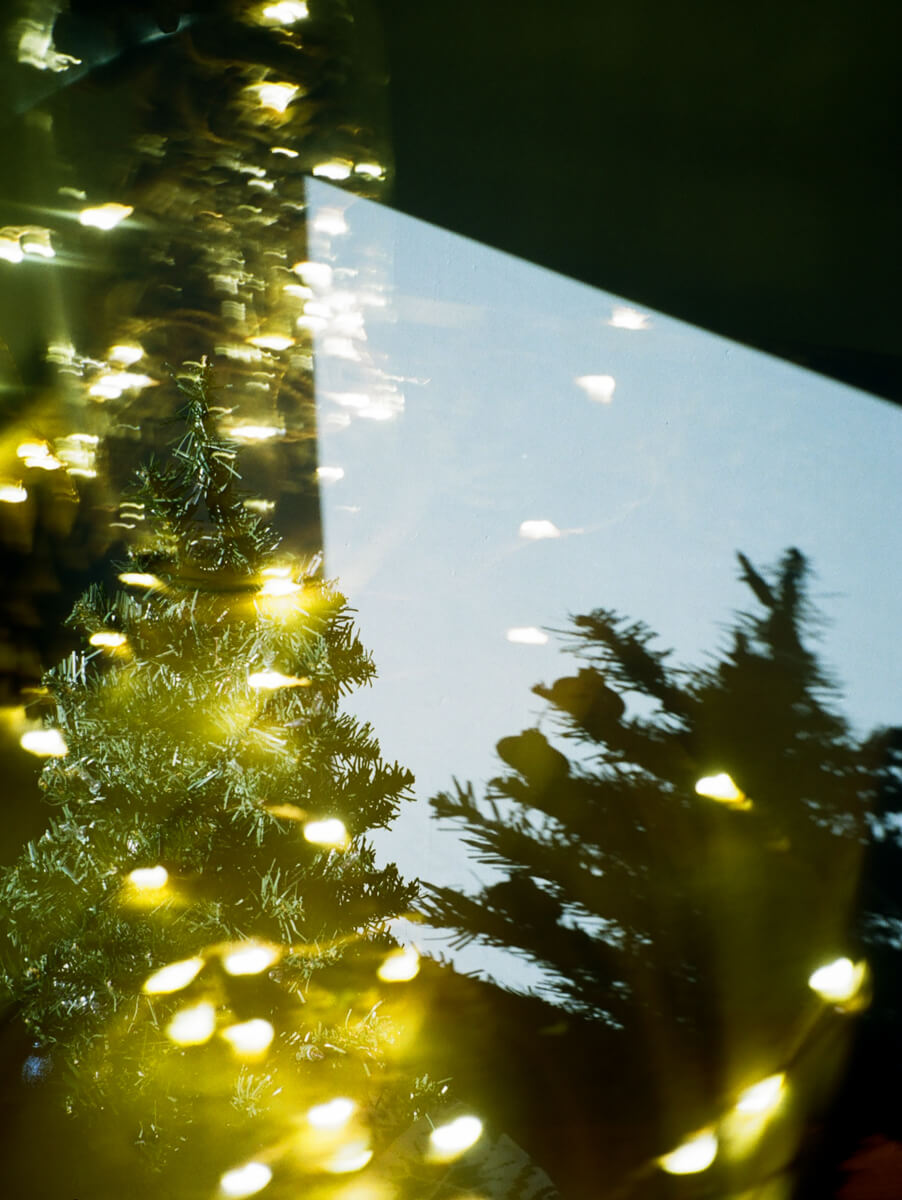 5 Frames... Of Christmas double exposures on Kodak Color Plus 200 and a Vivitar Powershot (35mm Format / EI 200) - by Tessa Klingensmith