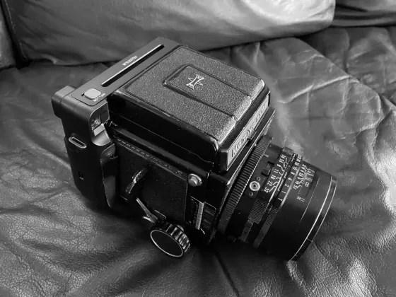 5 Sheets… Of Fujifilm Instax Square Monochrome on a Mamiya RB67 (EI 800 / Mamiya Sekor C 127mm f/3.8) –  by Alex Furman