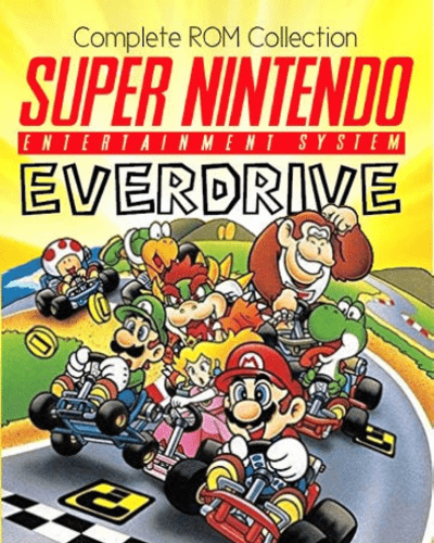 Super Everdrive Super Nintendo SNES Full Game ROM Collection on MicroSD