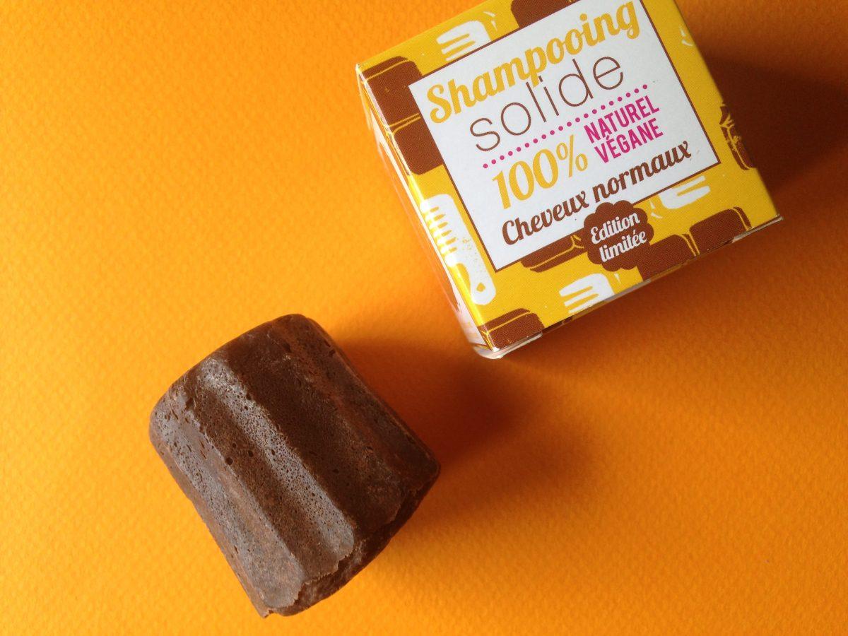 Le Shampoing solide au chocolat Lamazuna