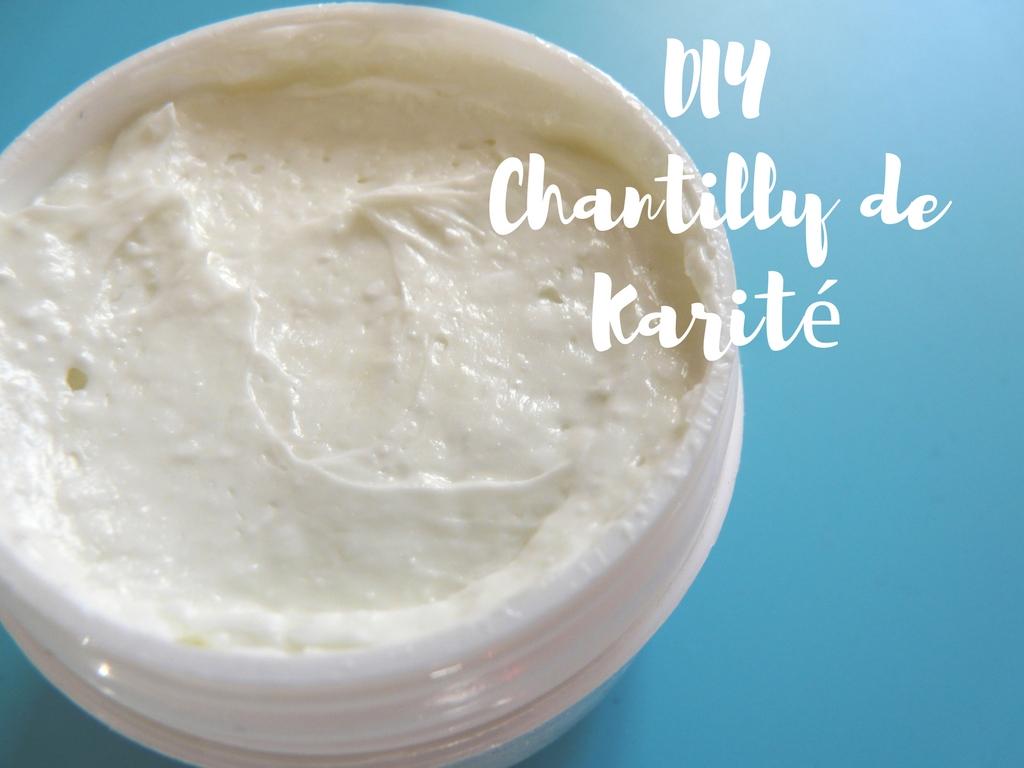 DIY - Chantilly de Karité nourrissante avec JoliEssence