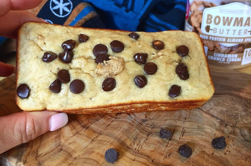 Personal Peanut Butter Protein Banana Bread