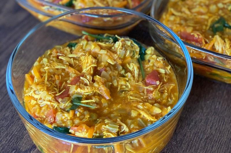 Thai Chicken Curry & Lentil Soup