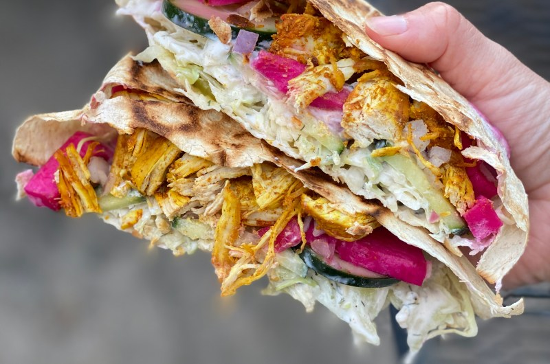 Chicken Shawarma Crunch Wrap