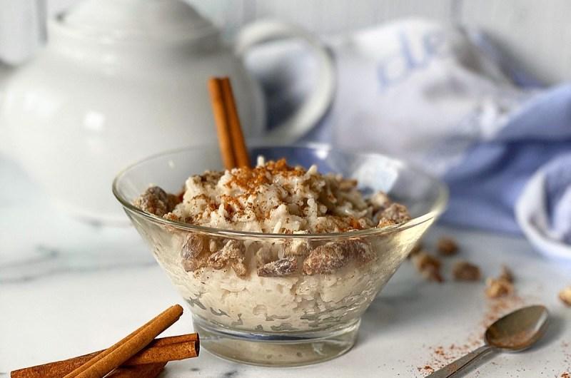Single Serving Almond Milk Rice Pudding