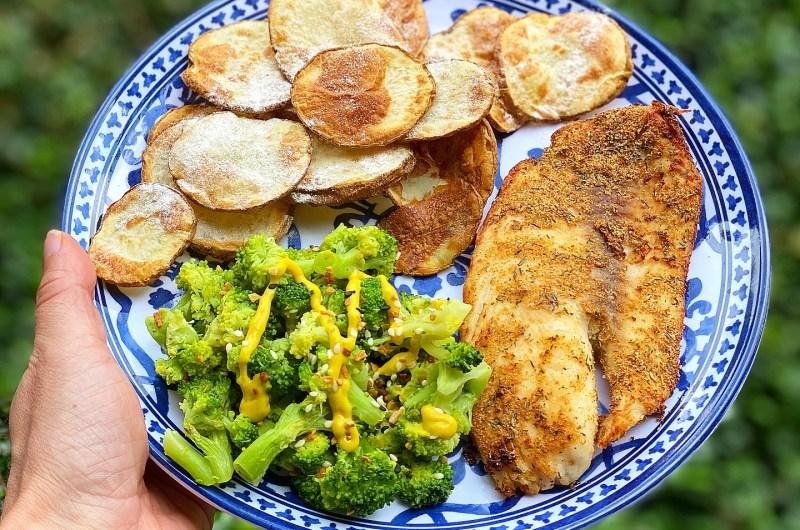 Air Fried Tilapia