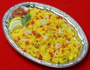 貴族のチャーハンビリアニプレート/biliyani plate3種(shrimp billiyani/mutton billiyani/chiken bilyani)