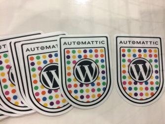 Automattic stickers