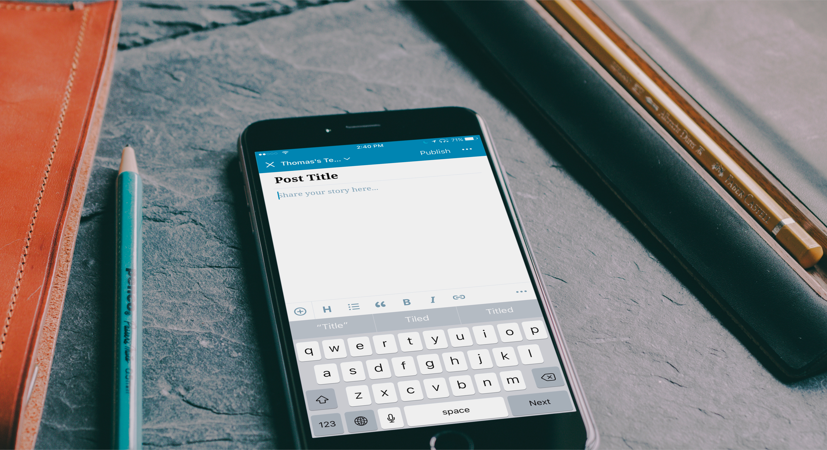 A Brand New Editor for the WordPress Mobile Apps