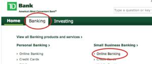 Td Bank Canada Ondeck Site