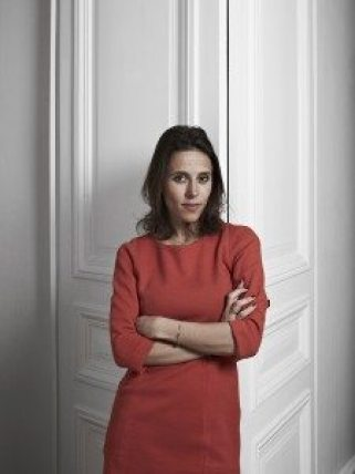 Lara Rouyres co-founder of Selectionnist at her home in Paris the 12th March 2015.