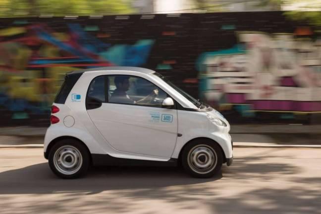 Carsharing. Car2go