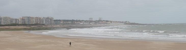 Der Strand von Les-Sables-d'Olonne