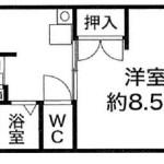 グリーンマンション・302号室1DK・敷金・礼金ゼロ! J166-030E4-008