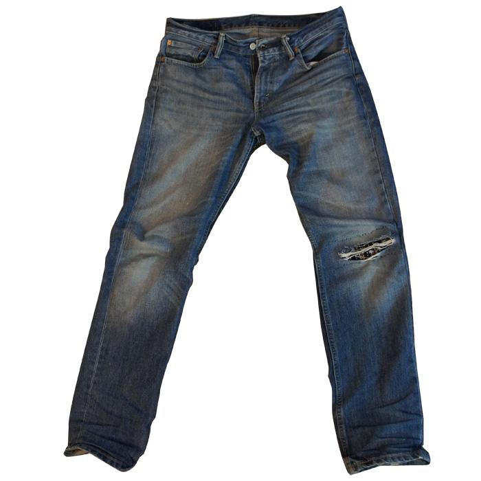 Mending Sashiko Jeans