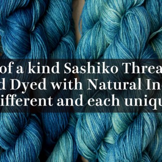 Gradient Color Sashiko Thread