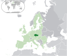 tchéquie en europe