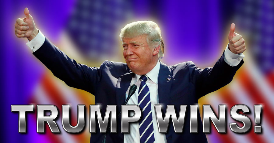 Image result for trump wins presidency