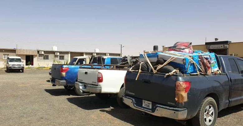 Photo of LNA seizes trucks while smuggling migrants, fuel