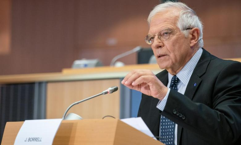 Photo of Borrell: EU believes Libya's crisis is linked to European interests