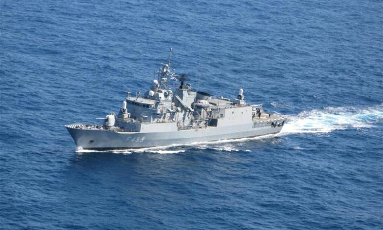Photo of New Greek frigate joins EU's Operation IRINI off Libya's coast
